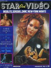 Star Cine Video N°10 - Insolite, Sensuel, Choc: New York Nights - Couverture - Format classique
