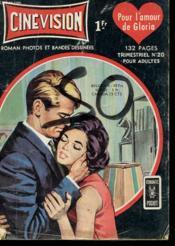 Cinevision - Pour L'Amour De Gloria - Trimestriel N°20 Pour Adulte - Couverture - Format classique