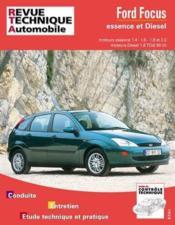 Rta 738.1 Ford Focus Essence Et Diesel - Couverture - Format classique