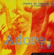 Cd Adore-Le (Prix Public Conseille 15,10 E) - Couverture - Format classique