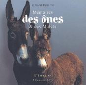 Memoires des anes et des mules - Couverture - Format classique