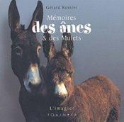 Memoires des anes et des mules - Intérieur - Format classique