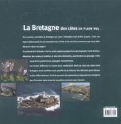 La Bretagne des côtes en plein vol - 4ème de couverture - Format classique