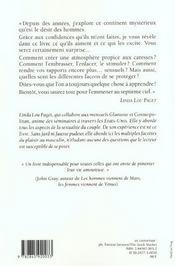 L'Art De Faire L'Amour A Un Homme - 4ème de couverture - Format classique