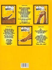 Berceuse assassine t.3 ; la memoire de dillon - 4ème de couverture - Format classique