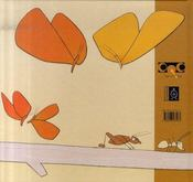Le voyage des papillons - 4ème de couverture - Format classique