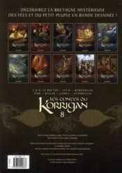 Les contes du korrigan T.8 ; les noces féériques - 4ème de couverture - Format classique