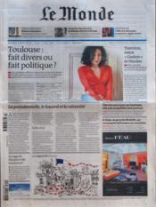 Monde (Le) N°20895 du 25/03/2012 - Couverture - Format classique