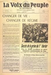 Voix Du Peuple De Touraine (La) N°1332 du 05/02/1967 - Couverture - Format classique