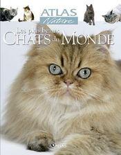 Les plus beaux chats du monde - Couverture - Format classique