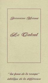 Calcul (Le ) - Couverture - Format classique