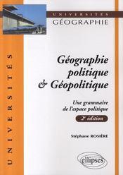 Géographie politique et géopolitique (2e édition mise à jour) - Intérieur - Format classique