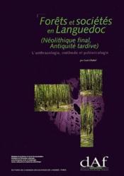 63/Forets Et Societes En Languedoc - Couverture - Format classique