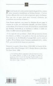 Piaf - le livre d'edith - 4ème de couverture - Format classique