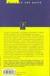 Des Psychologues Sont Sur Place... - 4ème de couverture - Format classique