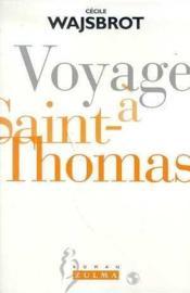 Voyage A Saint-Thomas - Couverture - Format classique