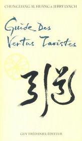 Guide Des Vertus Taoistes - Intérieur - Format classique