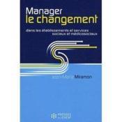 Manager le changement - Couverture - Format classique