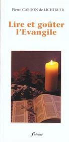Lire Et Go?Ter L'Evangile - Intérieur - Format classique