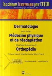 Dermatologie, médecine physique et de réadaptation, orthopédie - Intérieur - Format classique