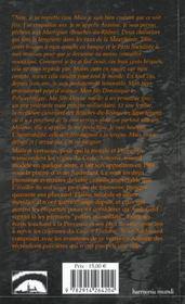 Antoine le vertueux ; le vertueux a tous les vices - 4ème de couverture - Format classique