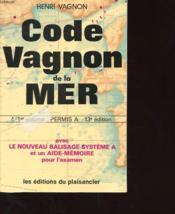 Code Vagnon De La Mer (Code De La Route De La Mer) En Deux Volumes - Couverture - Format classique