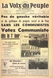 Voix Du Peuple De Touraine (La) N°1333 du 12/02/1967 - Couverture - Format classique