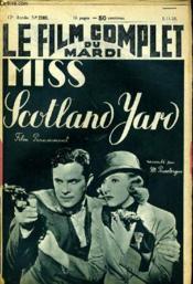 Le Film Complet Du Mardi N° 2180 - 17e Annee - Miss Scotland Yard - Couverture - Format classique
