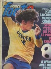 France Foot2 - Vendredi 8 Fevrier 1980 - N°98 - Couverture - Format classique