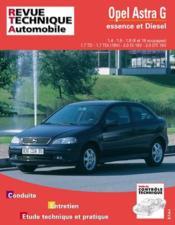 Rta 740.1 Opel Astra G Essence Et Diesel Dep. 04/98 - Couverture - Format classique