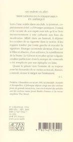 Tribulations d'un stradivarius en amerique - 4ème de couverture - Format classique