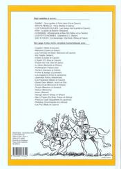 Recueil spirou t.277 - 4ème de couverture - Format classique