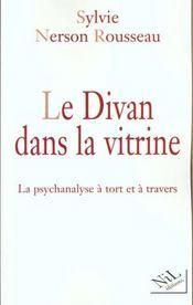 Le Divan Dans La Vitrine - Intérieur - Format classique