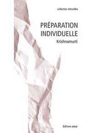 Preparation Individuelle - Intérieur - Format classique
