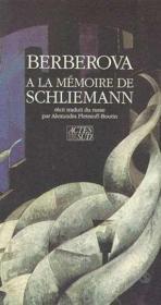A La Memoire De Schielmann - Couverture - Format classique