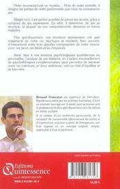Sante Et Developpement Personnel - 4ème de couverture - Format classique