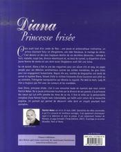 Diana, princesse brisee - 4ème de couverture - Format classique