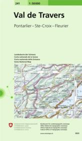 Val De Travers - Couverture - Format classique
