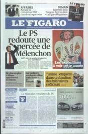 Figaro (Le) N°20985 du 20/01/2012 - Couverture - Format classique