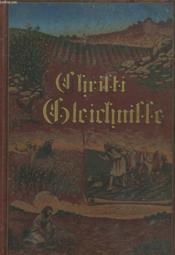 Christi Gleichnisse - Couverture - Format classique
