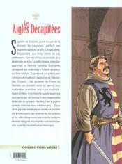 Les aigles décapitées t.18 ; l'écuyer d'Angoulême - 4ème de couverture - Format classique