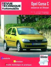 Rta 741.1 Opel Corsa Essence Et Diesel Depuis 10/00 - Couverture - Format classique