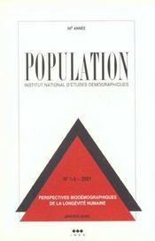 Population N 1-2 Janvier-Avril 2001 - Intérieur - Format classique