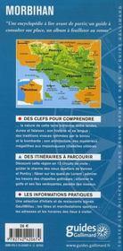 Morbihan ; Vannes, golfe du Morbihan, presqu'île de Quiberon, Belle-île... - 4ème de couverture - Format classique