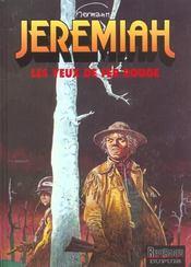 Jeremiah t.4 ; les yeux de fer rouge - Intérieur - Format classique