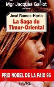 La Saga Du Timor-Oriental - Couverture - Format classique