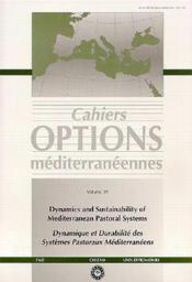 Dynamics and sustainability of mediterranean pastoral systems dynamique durabilite des systemes past - Couverture - Format classique
