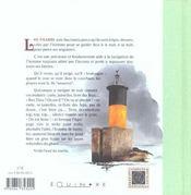 Phares et feux de bretagne - 4ème de couverture - Format classique