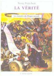 Les Annales Du Disque-Monde T.26 ; La Verite - Couverture - Format classique