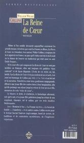 Reine De Coeur - 4ème de couverture - Format classique